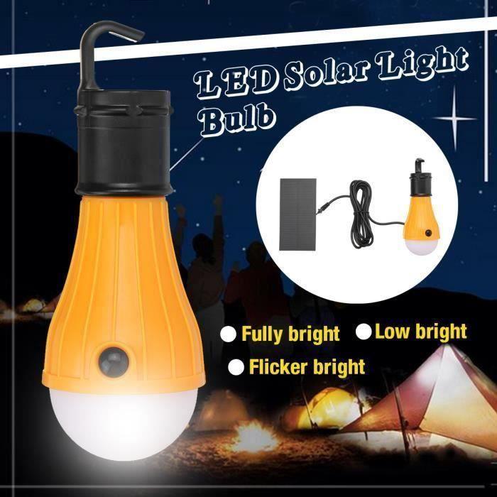 Pliant Light Up Camping DEL Lanterne Tente Lampe avec poignée par Pk Vert