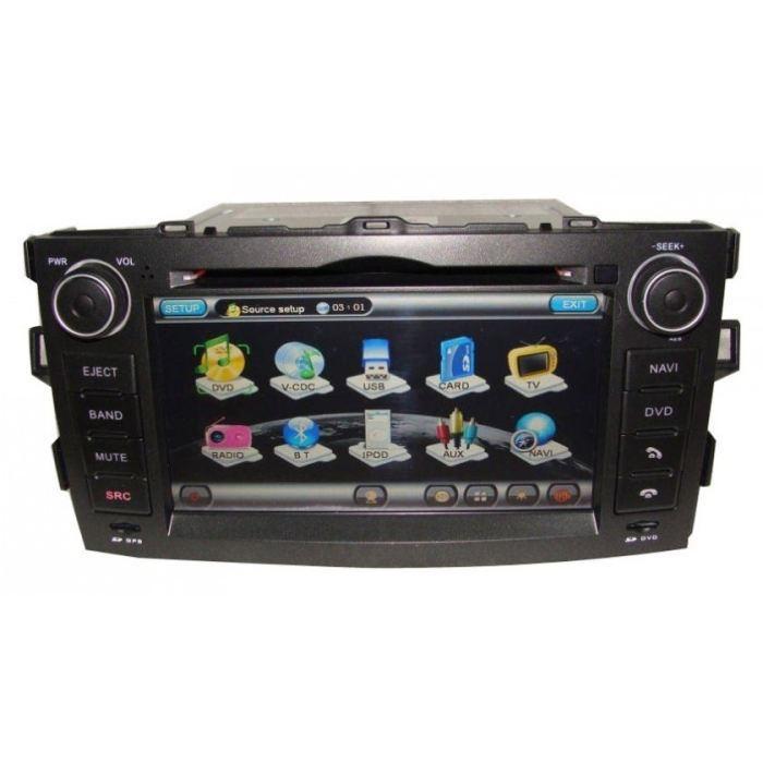 autoradio gps cran tactile 7 toyota auris achat vente autoradio autoradio dvd gps toyota. Black Bedroom Furniture Sets. Home Design Ideas