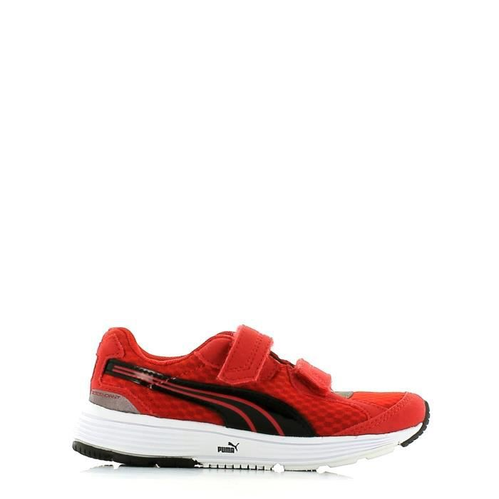 Puma Chaussures sports Enfant Higt risk red-black