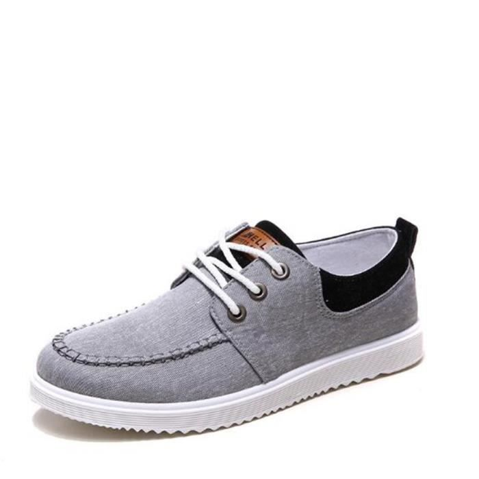 Sneaker Hommes Nouvelle Mode Grande Taille Chaussure Antidérapant Confortable Sneakers Classique