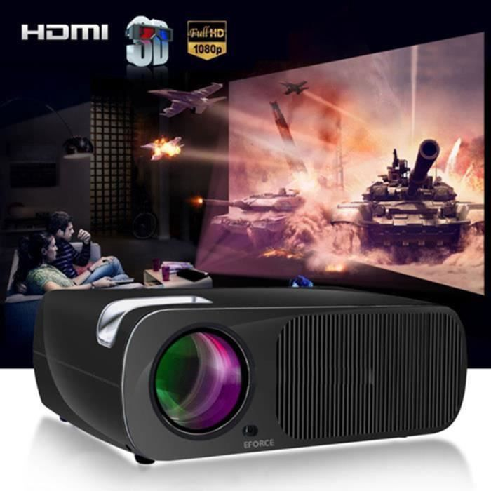 huihong bl20 2600 lumens tv hd hdmi maison cin ma th tre multim dia conduit projecteur lcd vga. Black Bedroom Furniture Sets. Home Design Ideas
