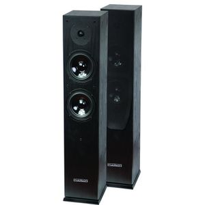 MADISON MAD-65 Paire d'enceintes Hi-fi ? 2 voies 120W Noires