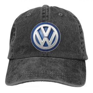 CASQUETTE Mode Cowboys de baseball logo Volkswagen Chapeaux