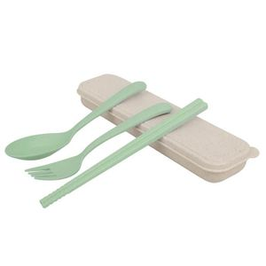 FOURCHETTE DE TABLE 3pcs / set de couverts ensemble voyage fourche de