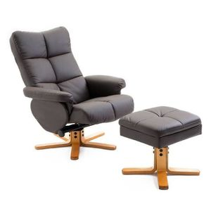FAUTEUIL Fauteuil Relax MANY Inclinable avec Repose-Pieds F