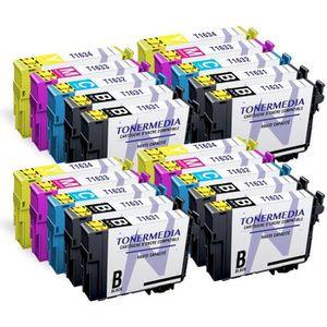 PACK CARTOUCHES TONERMEDIA - x20 cartouches Epson 16XL compatibles