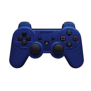 MANETTE JEUX VIDÉO KING Manette de Jeu Dualshock 3 bleue PS3