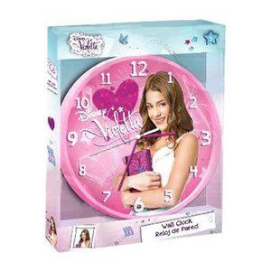 HORLOGE - PENDULE  Violetta Disney horloge Murale