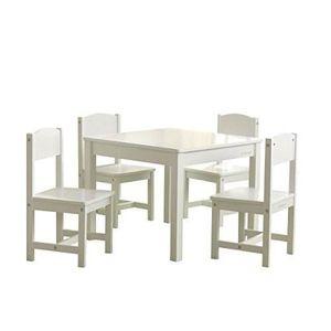 TABLE ET CHAISE KIDKRAFT - Table et4 chaises enfant en bois Farmh