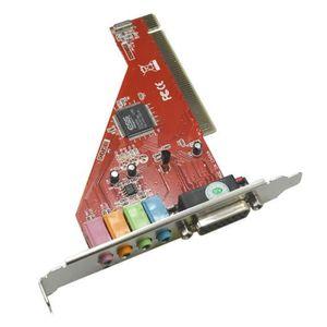 CARTE SON INTERNE Kingwing® SSE 4 canaux 3D Surround Sound ordinateu