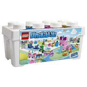 ASSEMBLAGE CONSTRUCTION LEGO® Unikitty 41455 La boîte de briques Unikingdo