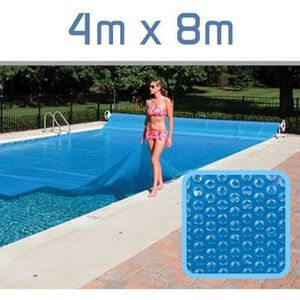 BÂCHE - COUVERTURE  Dimensions: 4 x 8 mètres - Épaisseur: 300 Micron