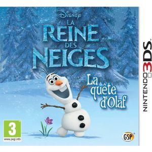 JEU 3DS La Reine des Neiges : La Quête d'Olaf Jeu 3DS