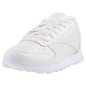 5057f02343ee2 BASKET Reebok Classic Leather Patent Femmes Baskets Blanc