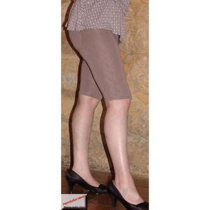PANTACOURT Corsaire Legging Sexy Extensible Taille Elastiquée