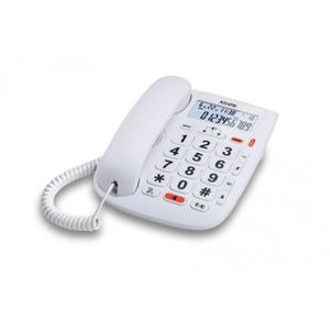Téléphone fixe Téléphone fixe Alcatel TMax 20 Blanc