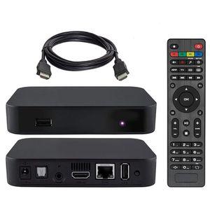 BOX MULTIMEDIA Récepteur TV Linux 3.3 câble MAG 322 IPTV Box avec