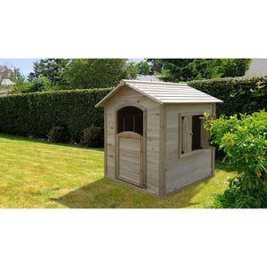 MAISONNETTE EXTÉRIEURE Maisonnette en bois pour enfant - abri de jardin p