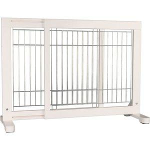 BARRIÈRE SÉCURITÉ CHIEN TRIXIE Barrière de sécurité - 65-108x61x31 cm - Bl