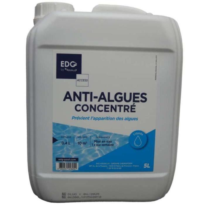 Anti algues 5 litres pour piscine