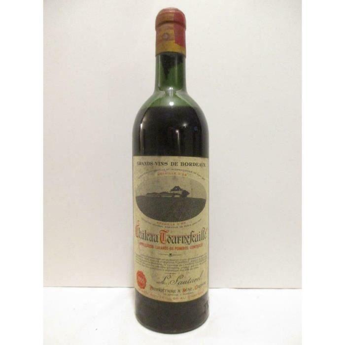 lalande de pomerol château tournefeuille rouge 1955 - bordeaux