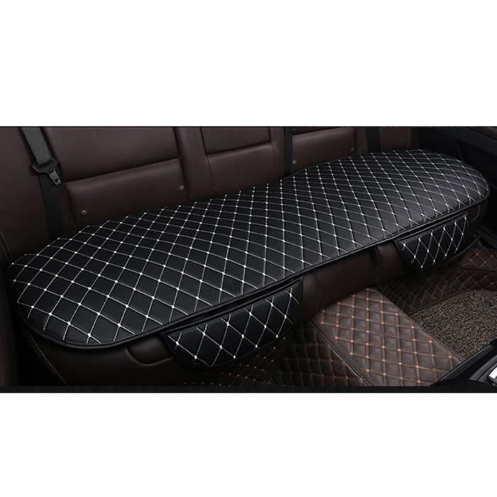 Siège arrière noir blanc sac de rangement coussin de siège auto coussin de protection de siège HOUSSE DE SIEGE - COUVRE SIEGE