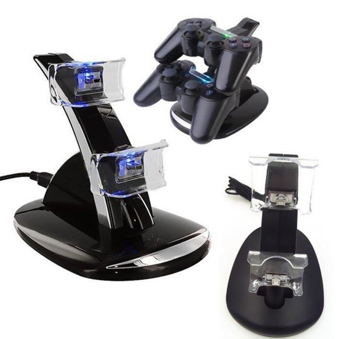 Station de Charge Manette Dual USB pour Consoles PS4
