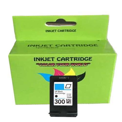 1x Compatible HP 300XL / CC641EE Noir imprimante Envy 120 e-All-in-One Cartouche d'encre