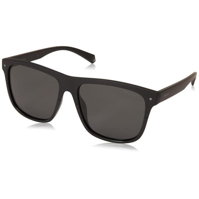 Polaroid Eyewear PLD 6041/S Montures de Lunettes, Noir (Black), 56 Mixte Adulte