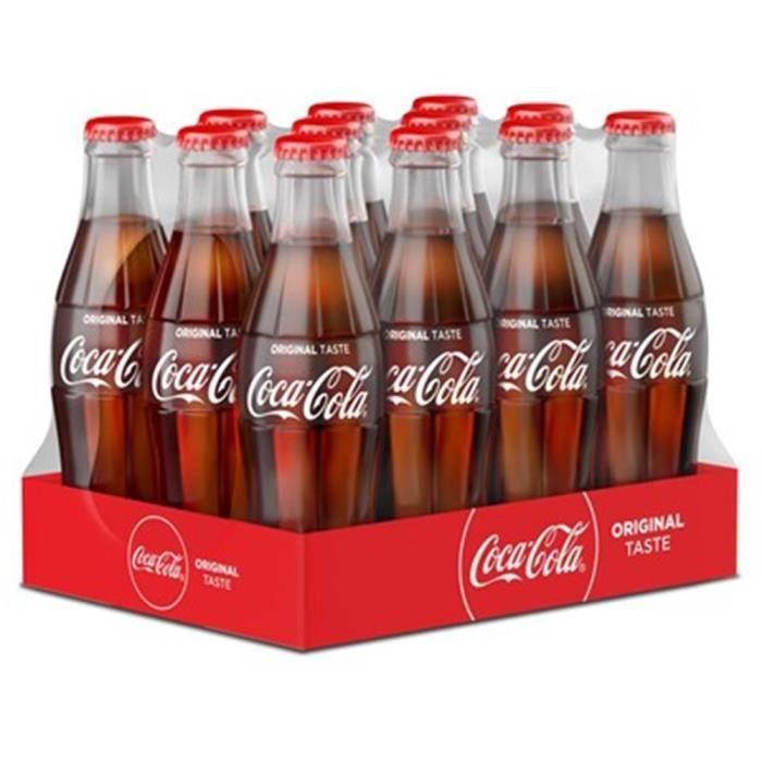 Coca-Cola 25 cl Verre 12 x 25 cl