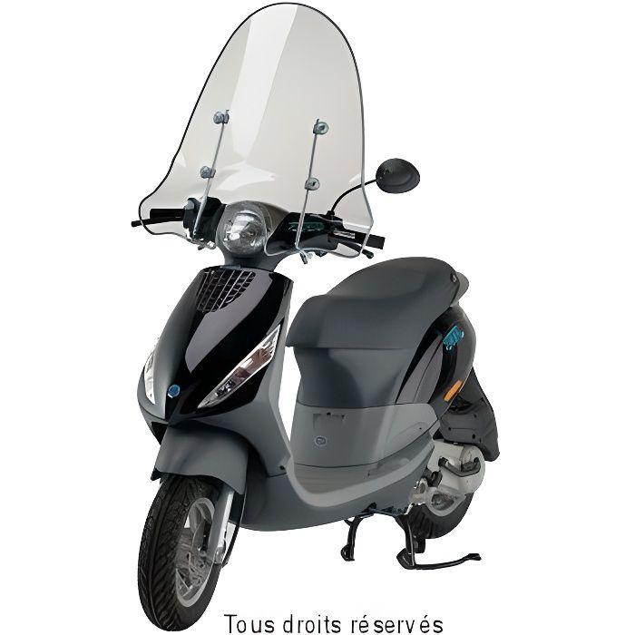 FABBRI - Parebrise Piaggio Zip 2000 Moyen Sans Bord