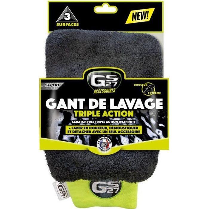 GS27 Gant de Lavage Triple Action