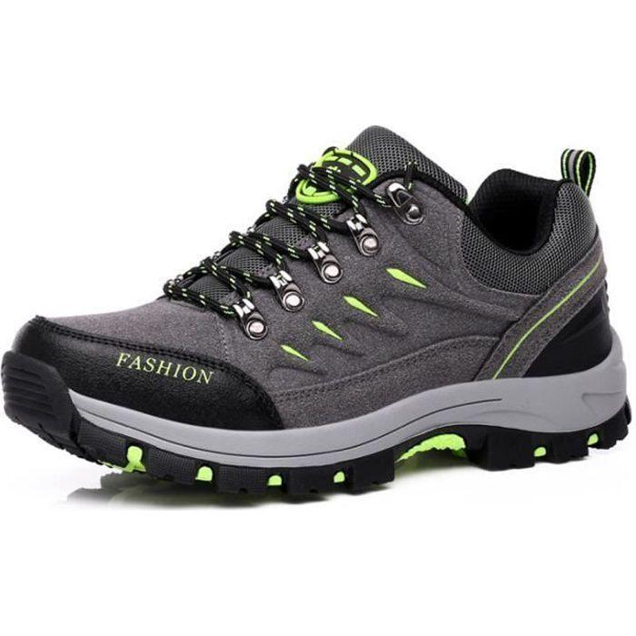 Jungle Chaussures Homme Marche Randonnée Marche Respirant Quotidien Sport