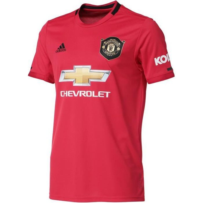 ADIDAS PERFORMANCE Maillot de Football MUFC H JSY Real - Homme - Rouge