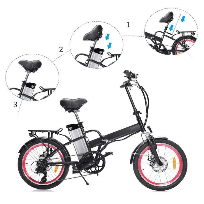 HA030-06 24 V 20Ah Li-ion Batterie 480 W Batterie Rechargeable Pack E vélo Akku pour Vélo Électrique