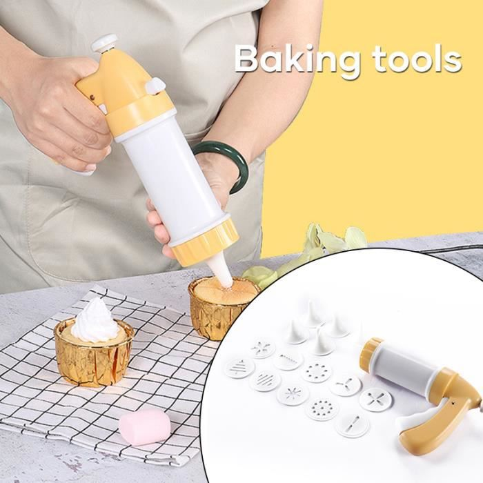 Kit de presse à biscuits facile moule à gâteau, Machine de presse à biscuits, outil de cuisine Cookie Biscuit presse ensemble