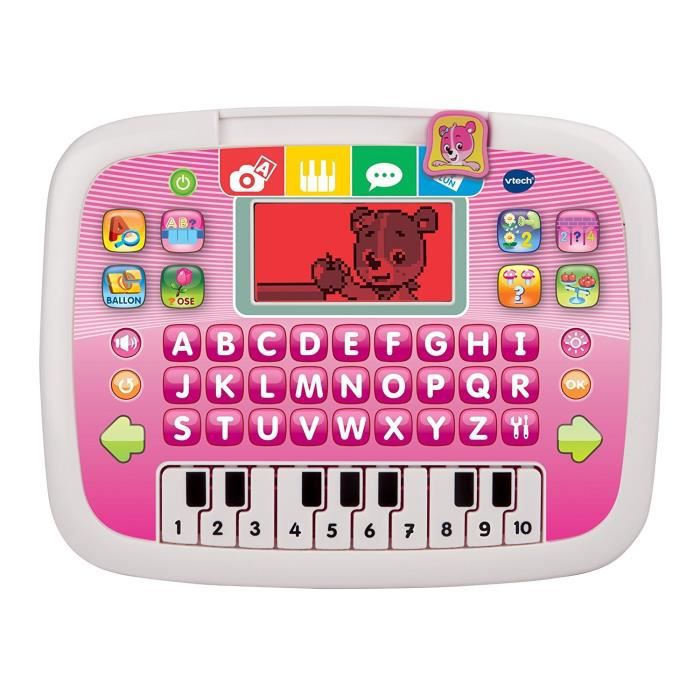 VTECH Tablette P'tit Genius Ourson Rose