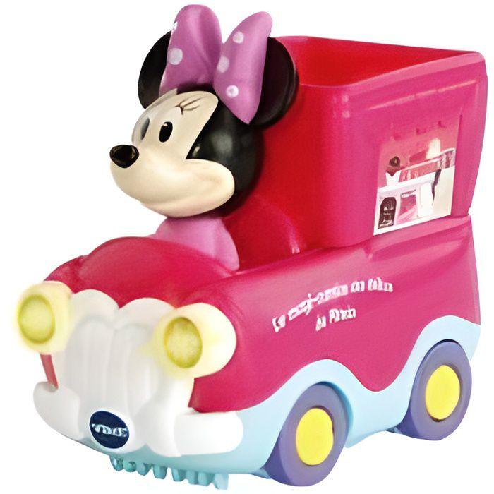 VTech Disney - Tut Tut Bolides Rose - Le Magi Camion des delices de Minnie - Jouet Bebe Fille 1-3 ans