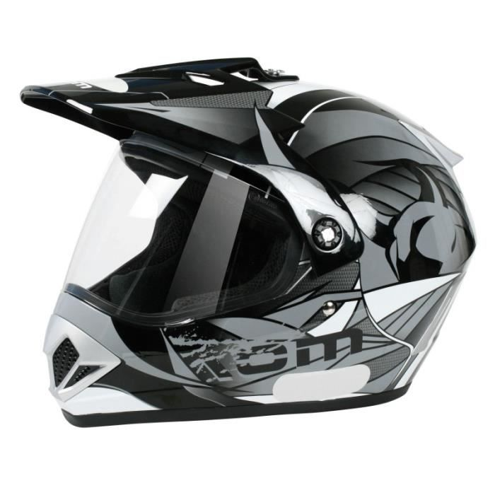 aom casque cross avec cran achat vente casque moto scooter aom casque cross avec cran. Black Bedroom Furniture Sets. Home Design Ideas