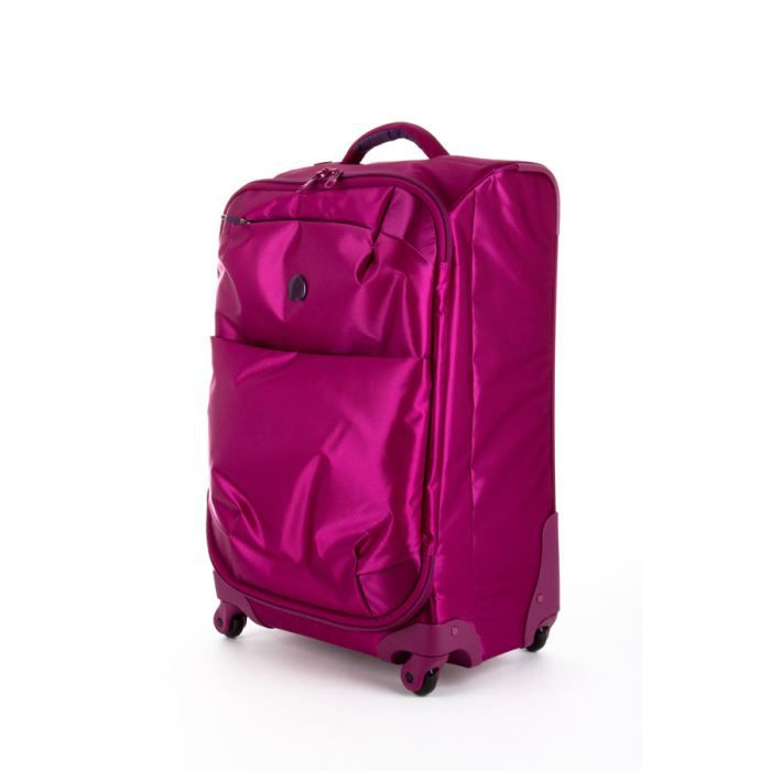 delsey valise souple for once 68cm orchid e violet violet. Black Bedroom Furniture Sets. Home Design Ideas