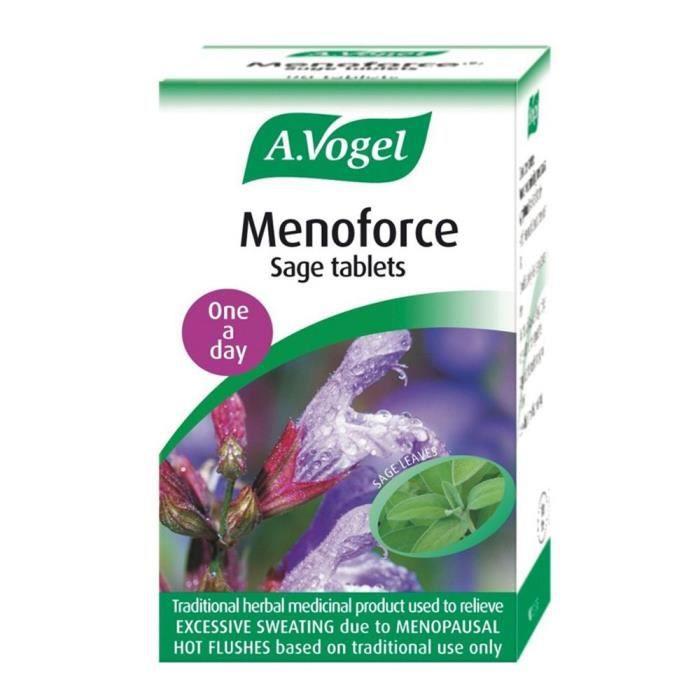 GEL - CRÈME DOUCHE A.Vogel  Gel - Menoforce Sage 30 comprimés GEL DE