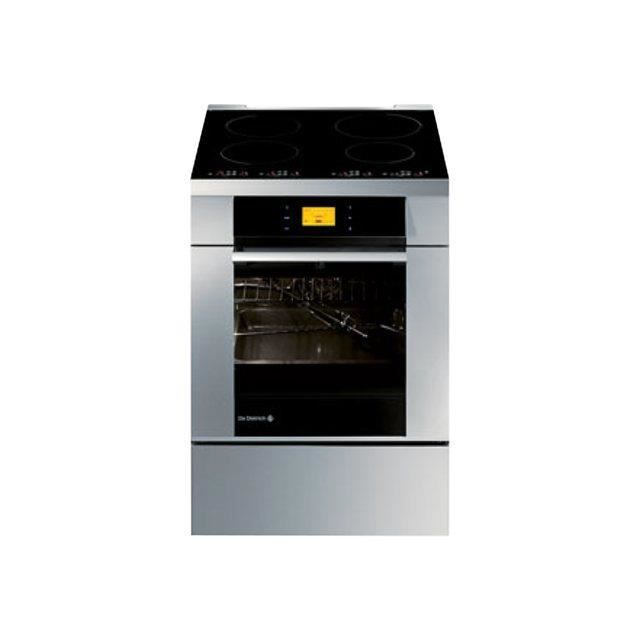 cuisiniere 60cm induction inox de dietrich dci999x achat. Black Bedroom Furniture Sets. Home Design Ideas