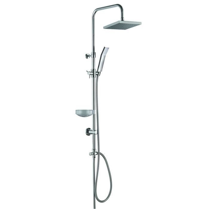 Essebagno kit de douche chrom e new constellation achat vente colonne de - Colonne de douche discount ...