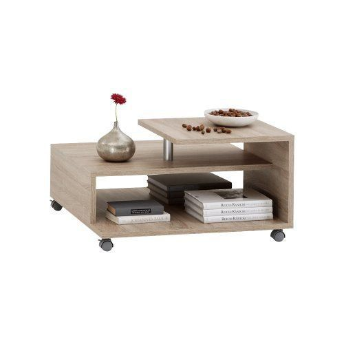 fmd 638 001 ei henri table basse sur roulettes achat vente table basse fmd 638 001 ei. Black Bedroom Furniture Sets. Home Design Ideas