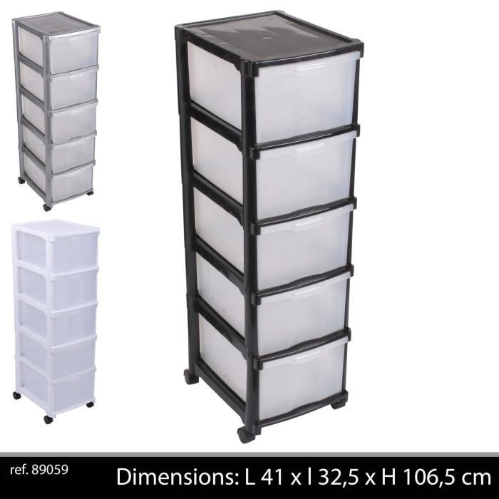 colonne blanche rangement roulette tour tiroir achat. Black Bedroom Furniture Sets. Home Design Ideas
