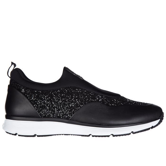 Slip on femme en cuir sneakersh254 traditional Hogan