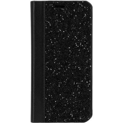 coque clapet bling strass pour apple iphone x min