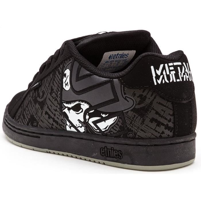 Baskets Etnies Metal Mulisha Fader Chaussures en Noir - Skulls 4107000233 894 [UK 9.5EU 44]