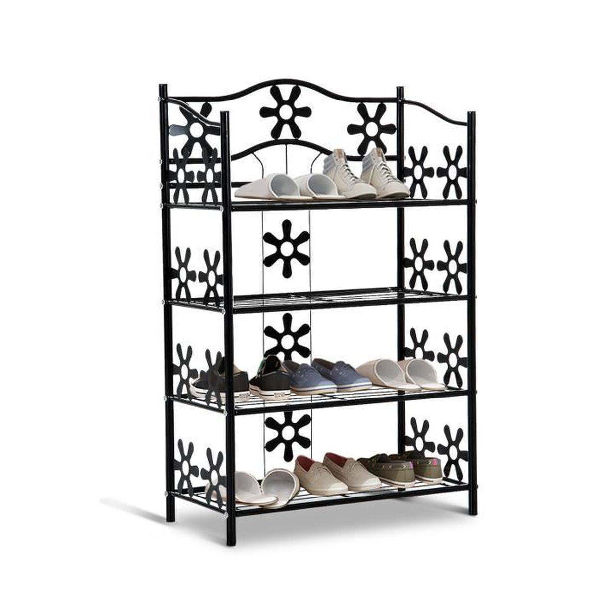 etagere a chaussures achat vente etagere a chaussures. Black Bedroom Furniture Sets. Home Design Ideas