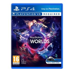 CASQUE RÉALITÉ VIRTUELLE VR Worlds (Playstation VR) : Playstation 4 , ML